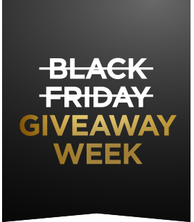 Black Friday Giveaway Week