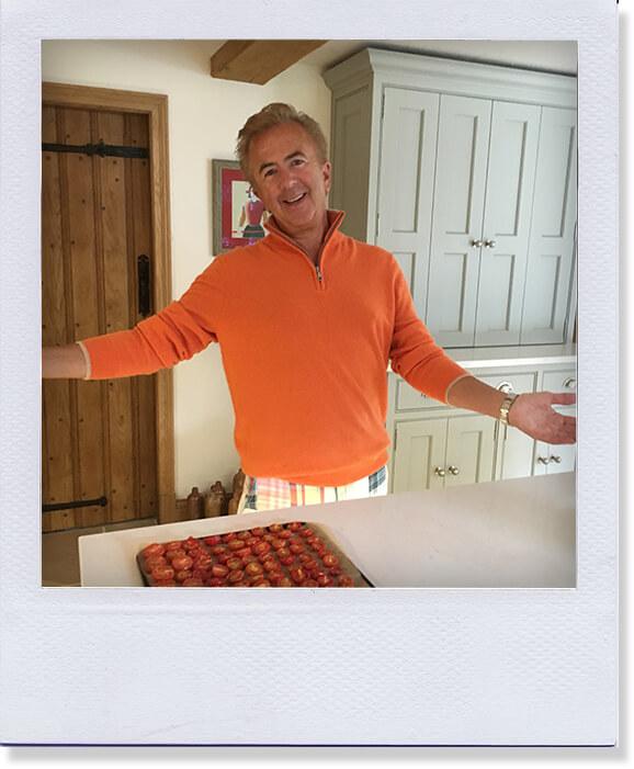 Mark in the kitchen